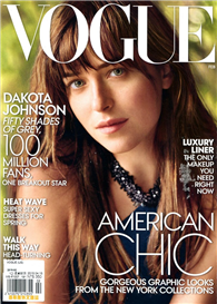 VOGUE 美國版 2月號/2015:Dakota Johnson