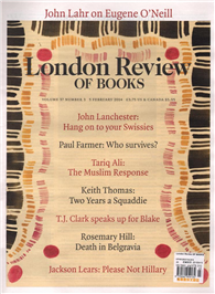London Review OF BOOKS 0205/2015