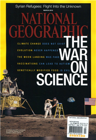 NATIONAL GEOGRAPHIC 3月號/2015:The War on Science