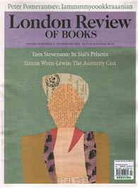 London Review OF BOOKS 0219/2015