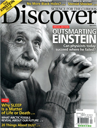 DISCOVER 4月號/2015:Outsmarting Einstein