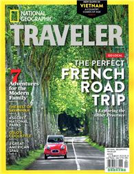 NATIONAL GEOGRAPHIC TRAVELER 4月號/2015:French Road Trip