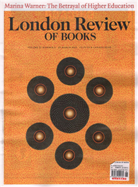 London Review OF BOOKS 0319/2015