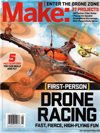 Make: DRONE ZONE 4-5月號/2015:Drone Racing