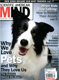 SCIENTIFIC AMERICAN MIND 5-6月號/2015:Why We Love Pets and Why They Love Us