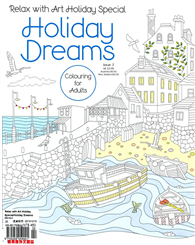 Relax with Art Holiday Special 第2期:Holiday Dreams(Colouring for Adults)