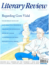 Literary Review 英國版 9月號/2015 第435期: Regarding Core Vidal
