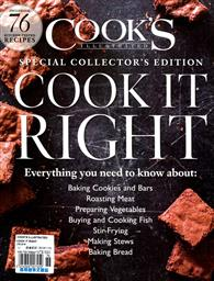 COOK'S ILLUSTRATED/ COOK IT RIGHT 2016年