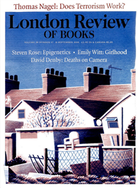 London Review OF BOOKS 0909/2016