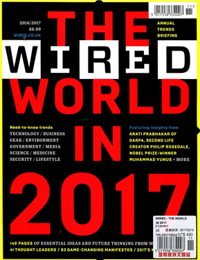 WIRED - THE WORLD IN 2017