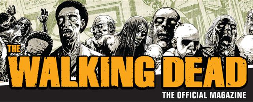THE WALKING DEAD(陰屍路)官方雜誌獨家呈現與漫畫同步的作家腳本和圖文解說