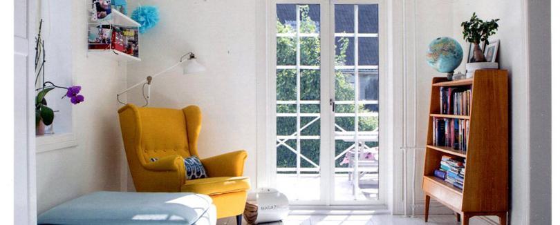 在華美的房子,如果沒有屬於自己空間,住起來也只是彆扭。