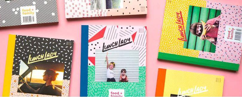 Lunch Lady是一本美麗的廚藝美食雜誌,有食譜、鼓舞人心的家庭故事,還有攝影、藝術和有趣的父母經。