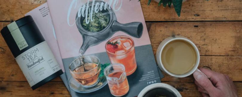 咖啡專門雜誌Caffeine特別介紹茶飲,日本抹茶、中國綠茶到中外熱愛的紅茶,喝出飲品文化的趣味