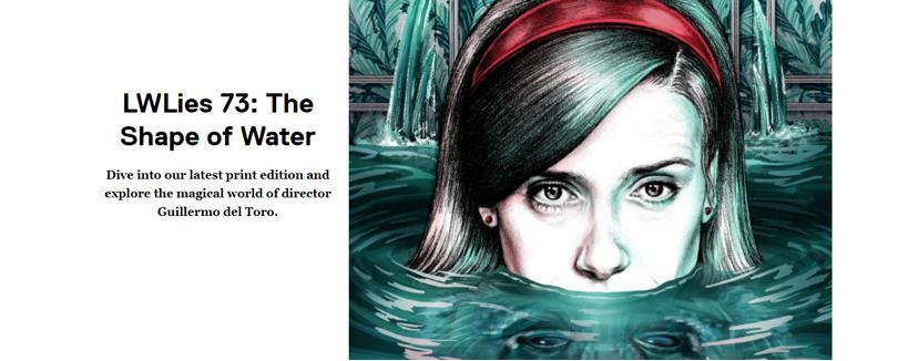 走進Guillermo del Toro打造的一場奇幻童話世界--《水底情深》