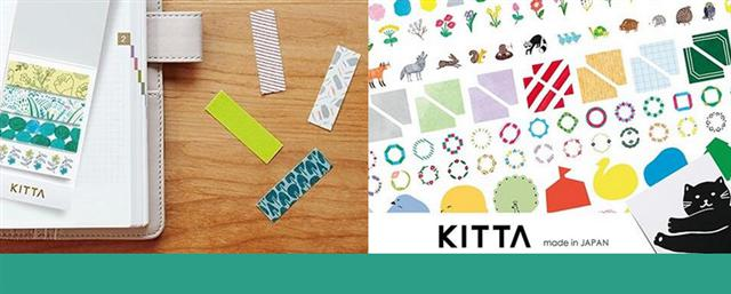 【日本KITTA攜帶型和紙膠帶】新品上架99元起~豐富你的紙膠人生!