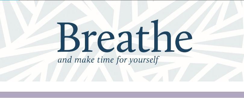 汲汲營營的每一天,多花點時間與自己相處吧!透過《Breathe》為身心靈做深度療癒和保養~