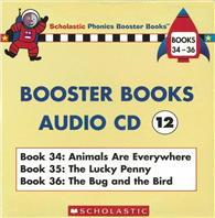 Phonics Booster Books Audio CD 12  Book 34~36
