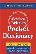 Merriam~webster's Pocket Dictionary