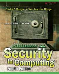 SECURITY IN COMPUTING 4/E