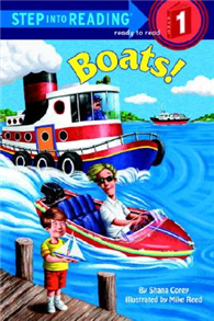 Step into Reading Step 1: Boats!