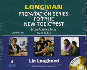 Longman Preparation Series for the New TOEIC Test: More Practice Tests 4 Audio CDs 4/E