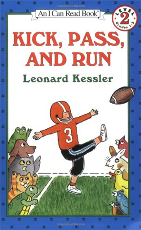 An I Can Read Book Level 2: Kick, Pass, and Run