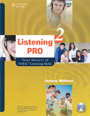 Listening Pro 2: Total Mastery of TOEIC Listening Skills(with MP3)