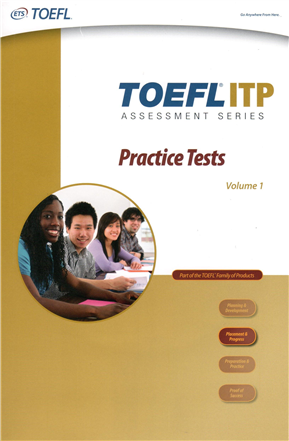 TOEFL ITP Practice Tests, Volume 1