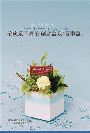 治癒系不凋花:創意盆栽(夏季篇)(書+材料包)