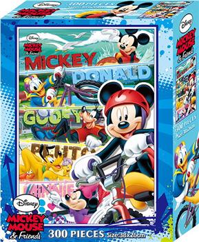 迪士尼米奇300片盒裝拼圖(G)