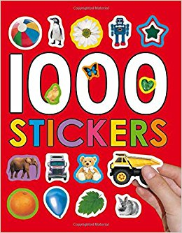 1000 Stickers (red)