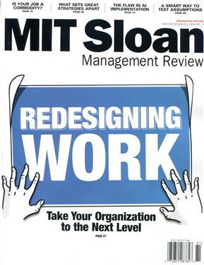 MIT Sloan Management Review 冬季号/2018