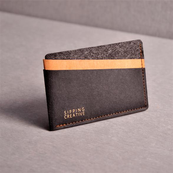 信用卡夾_時尚黑【俬品創意】