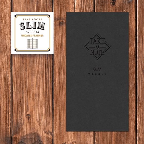 Take a Note Slim Weekly無時效性日誌【臺大出版中心 NTU PRESS】