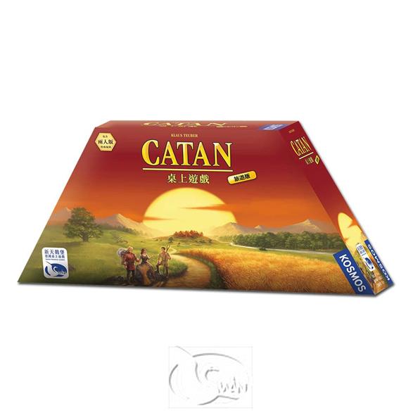 卡坦島旅遊版 Catan Compact 【新天鵝堡桌遊】
