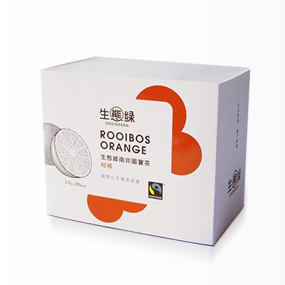 公平貿易南非國寶茶/柑橘/20入/盒【生態綠】