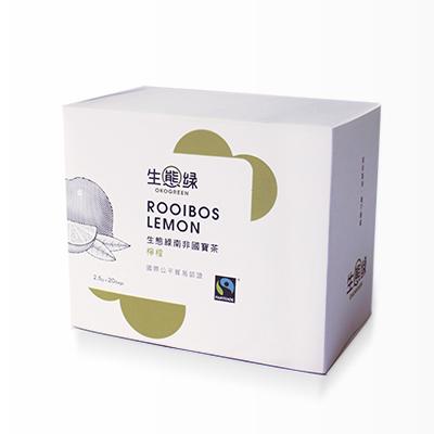 公平貿易南非國寶茶/檸檬/20入/盒【生態綠】