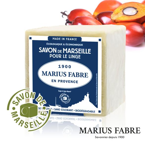 法鉑棕櫚油經典/馬賽皂600g【Marius Fabre】