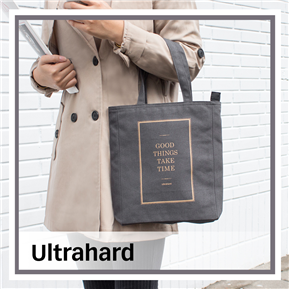 Ultrahard Life Inspiration 格言阅读书袋/Good Things(灰)【超硬 Ultrahard 】